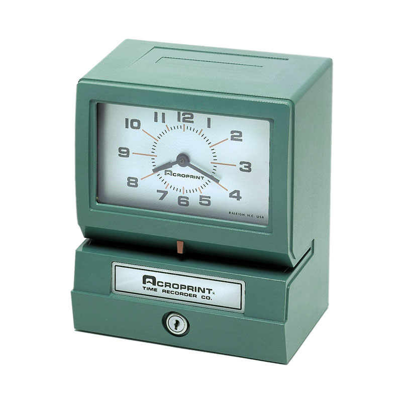 Acroprint Model 150 Electronic Punch Time Recorder