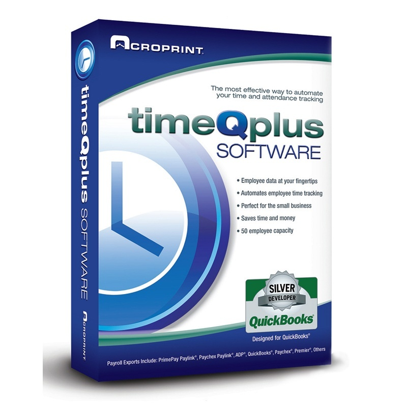 Acroprint TimeQPlus Time Attendance Software Only