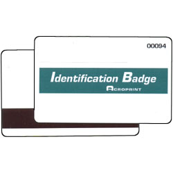 Acroprint TQ600M Magnetic Stripe Badges Numbered 1 15