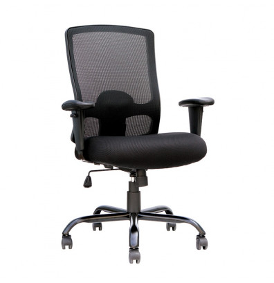 Eurotech Big Tall 350 Lb Fabric Mid Back Executive Office Chair