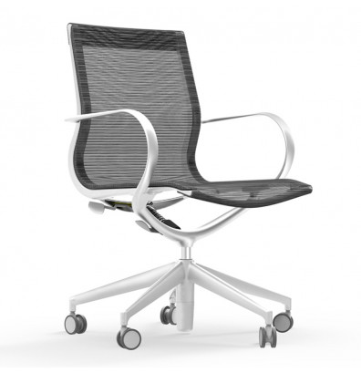 Cherryman Idesk Curva Mesh Mid Back Executive Office Chair