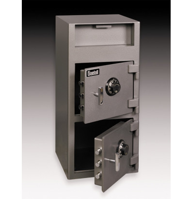 Gardall Ds3315cc 2 16 Cu Ft Double Door Front Loading Depository Safe