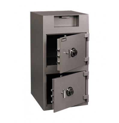Gardall Ds3920cc 5 43 Cu Ft Double Door Front Loading Depository Safe