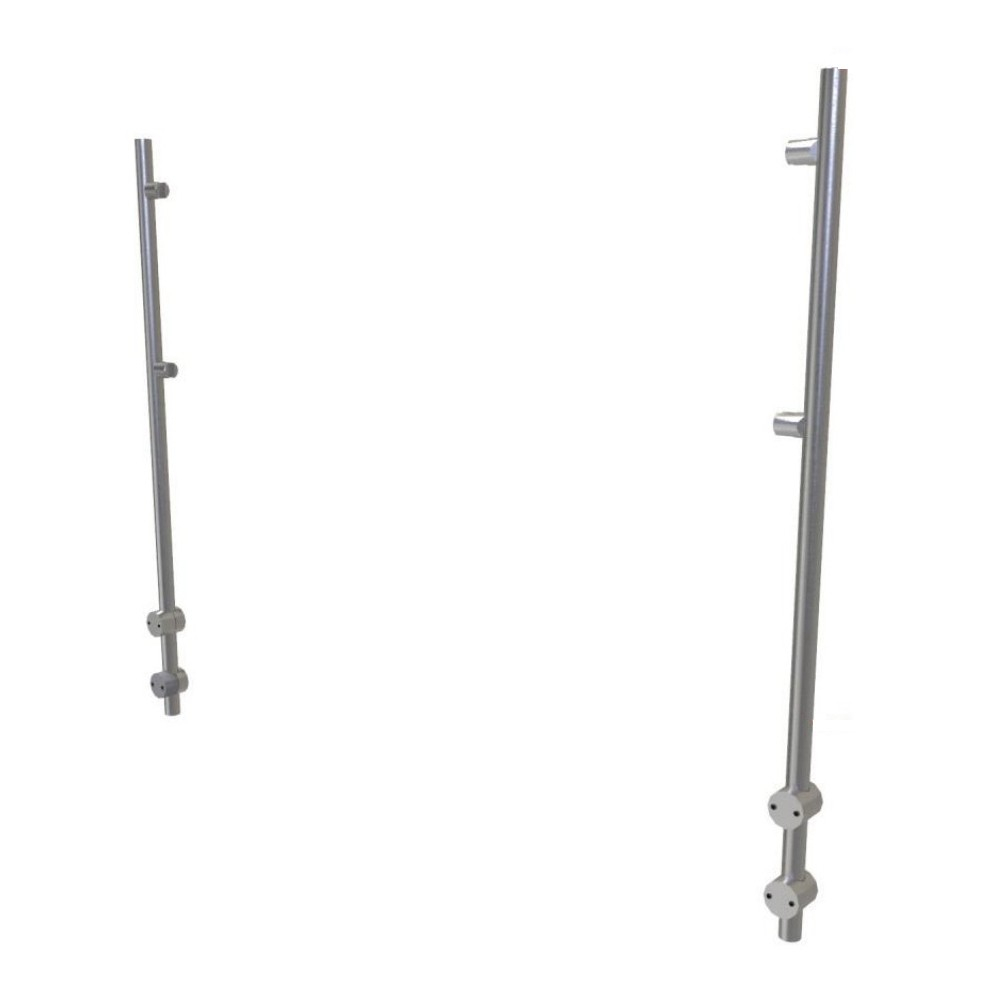 ADM EP7 Aluminum Posts for Bolted Sneeze Guards Set of 2