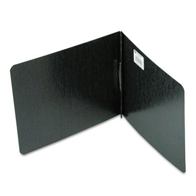 Acco 2 Capacity 8 12 x 11 Prong Clip Pressboard Reinforced Hinge Report Cover Black