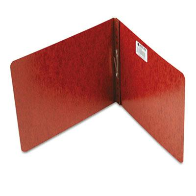 Acco 2 Capacity 8 12 x 11 Prong Clip Reinforced Hinge Pressboard Report Cover Red