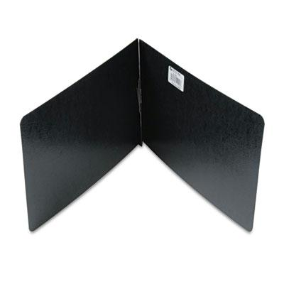 Acco 2 Capacity 8 12 x 14 Prong Clip Reinforced Hinge Report Cover Black