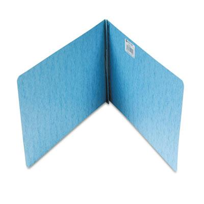 Acco 2 Capacity 8 12 x 14 Prong Clip Reinforced Hinge Report Cover Light Blue