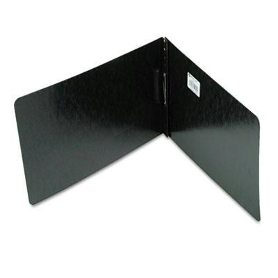 Acco 2 Capacity 8 12 x 14 Prong Clip Pressboard Reinforced Hinge Report Cover Black