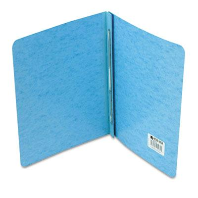 Acco 3 Capacity 8 12 x 11 Prong Clip Reinforced Hinge Report Cover Blue