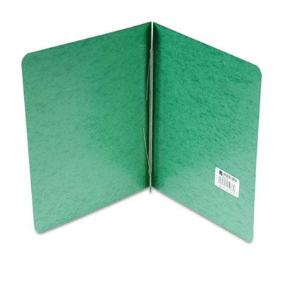 Acco 3 Capacity 8 12 x 11 2 Prong Clip Reinforced Hinge Report Cover Dark Green