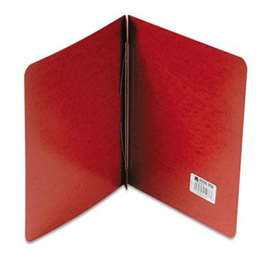 Acco 3 Capacity 8 12 x 11 Prong Clip Report Cover Reinforced Hinge Red