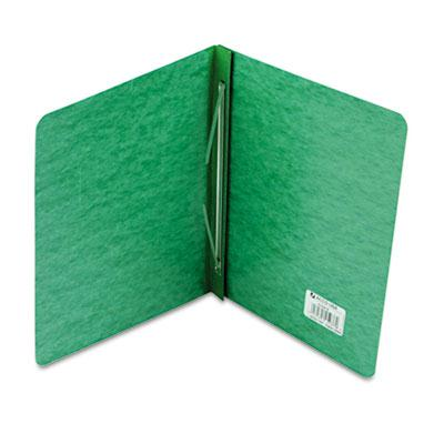 Acco 3 Capacity 8 12 x 11 Prong Clip Pressboard Reinforced Hinge Report Cover Dark Green