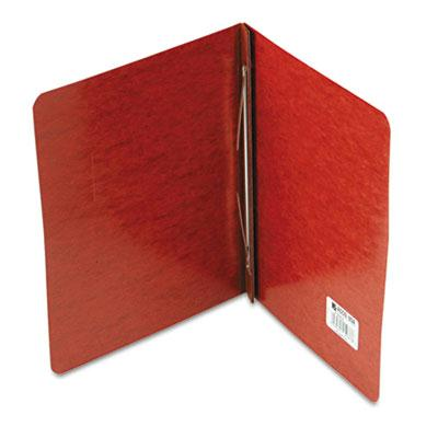Acco 3 Capacity 8 12 x 11 Prong Clip Pressboard Reinforced Hinge Report Cover Red