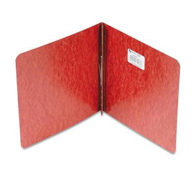 Acco 2 Capacity 8 12 x 8 12 Prong Clip Pressboard Reinforced Hinge Report Cover Red