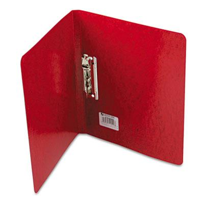 Acco 58 Capacity 8 12 x 11 Presstex Grip Punchless Spring Action Clamp Binder Red