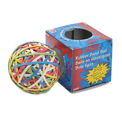 Acco Rubber Band Ball Assorted Colors
