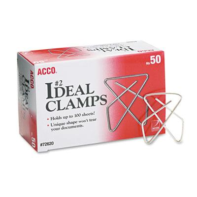 Acco Small Steel Wire Ideal Clamps 50Box