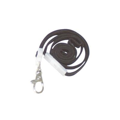 Advantus 36 Claw Hook Deluxe Safety Lanyards Black 24Box