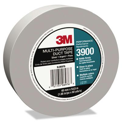 3M 188 x 60 yds Poly Coated Cloth Duct Tape 3 Core Silver