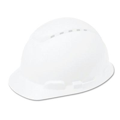 3M H 700 Series Vented 4 Point Ratchet Suspension Hard Hat White
