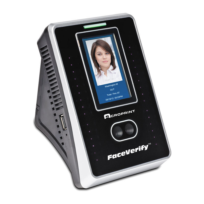 Acroprint FaceVerify Biometric Facial Recognition Time Clock Add on Terminal
