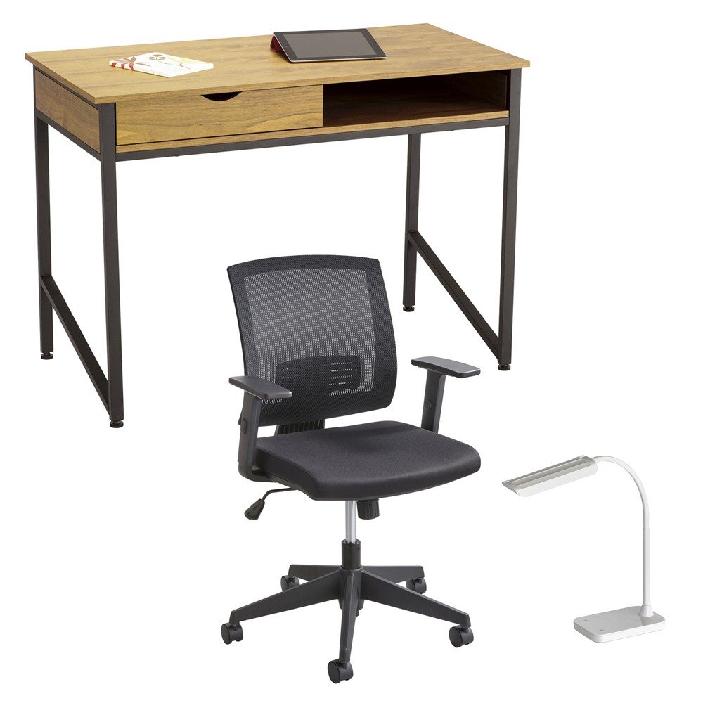 Drawer | Office | Single | Safco | Chair | Desk | Lamp | Home | From | Set