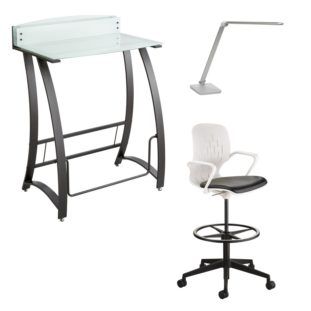 Safco | Chair | Desk | Lamp | Home | From | Set